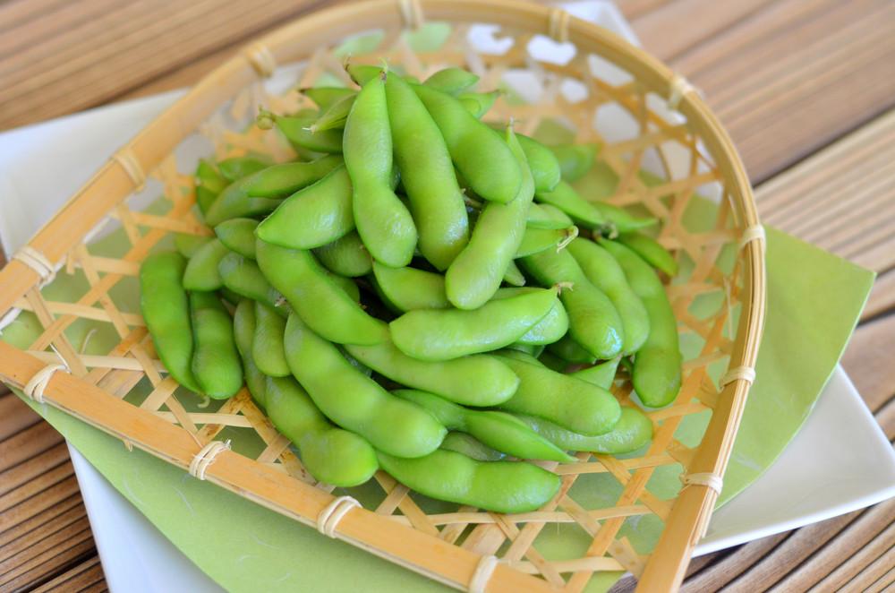 おつまみに枝豆