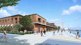 横浜みなとみらい、赤レンガ倉庫そばに新しい商業ビル『マリン&ウォーク』が登場