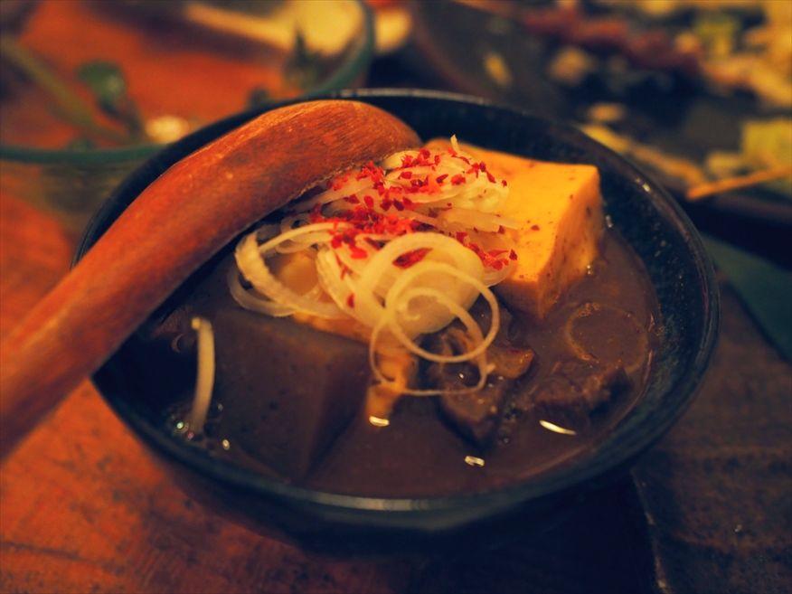 ジョウモン渋谷店のモツ煮
