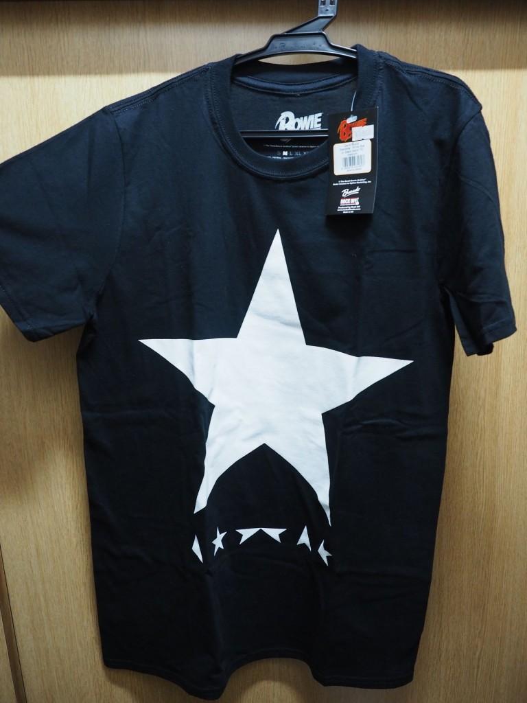 池袋ピーダッシュパルコでデビッド・ボウイのTシャツを買いました