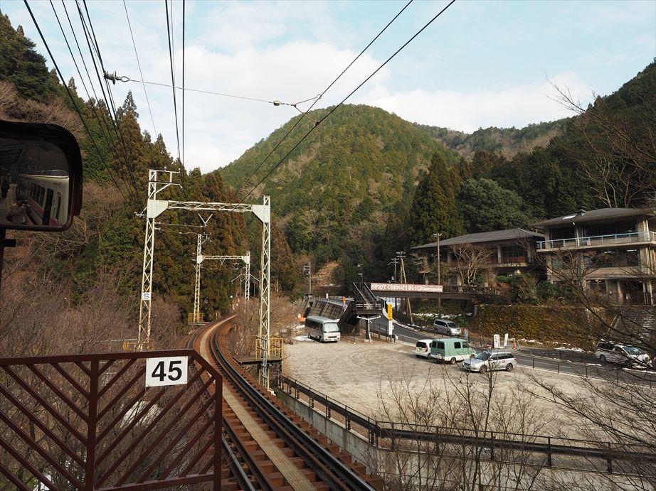 叡山電車の貴船口駅