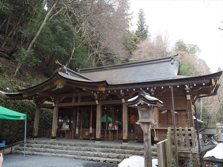 貴船神社の本宮