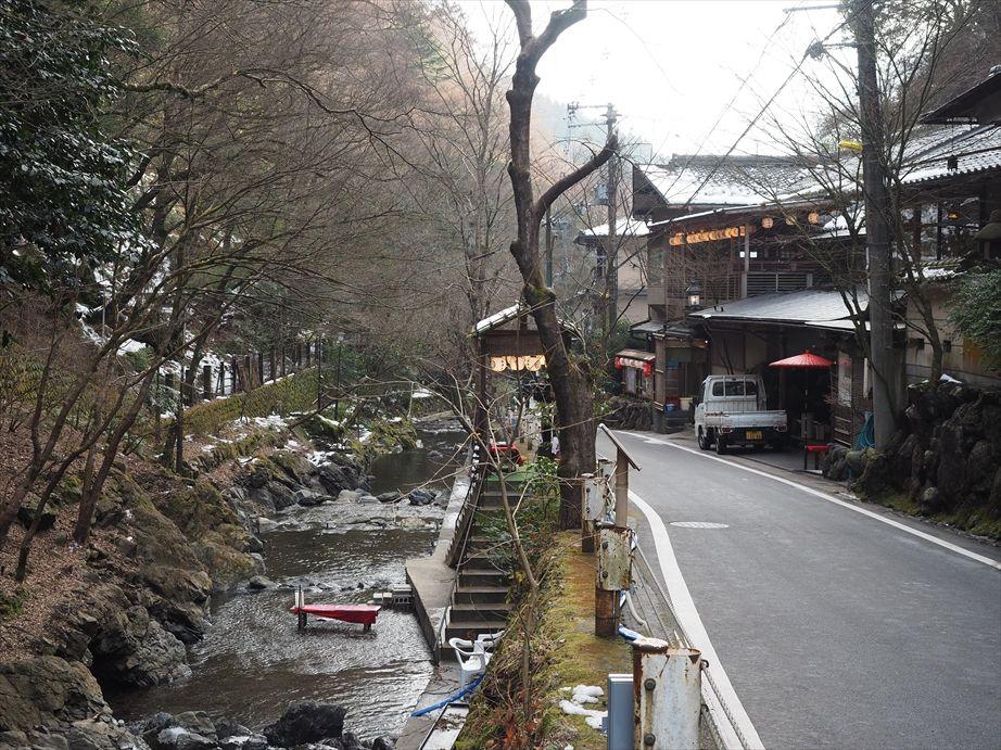 こんなところにも川床がある京都らしさ