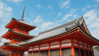 平成の大改修、清水寺の轟門は解体修理中だった【2016年1月】