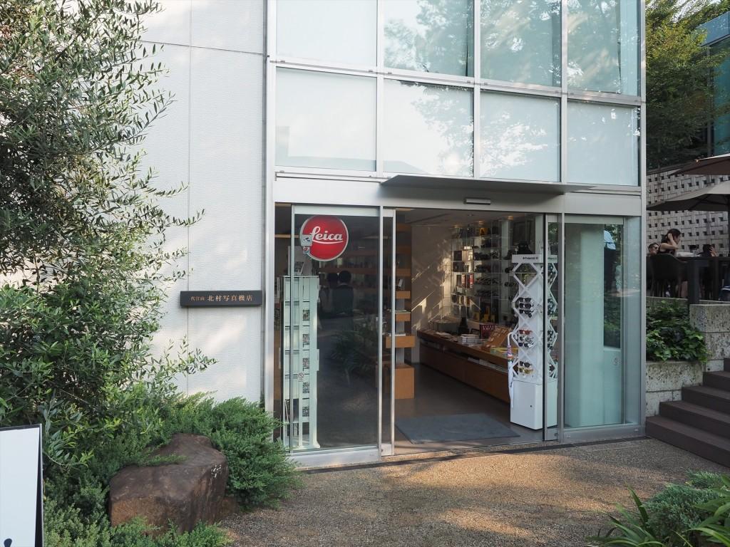 会場の代官山キタムラ写真機店