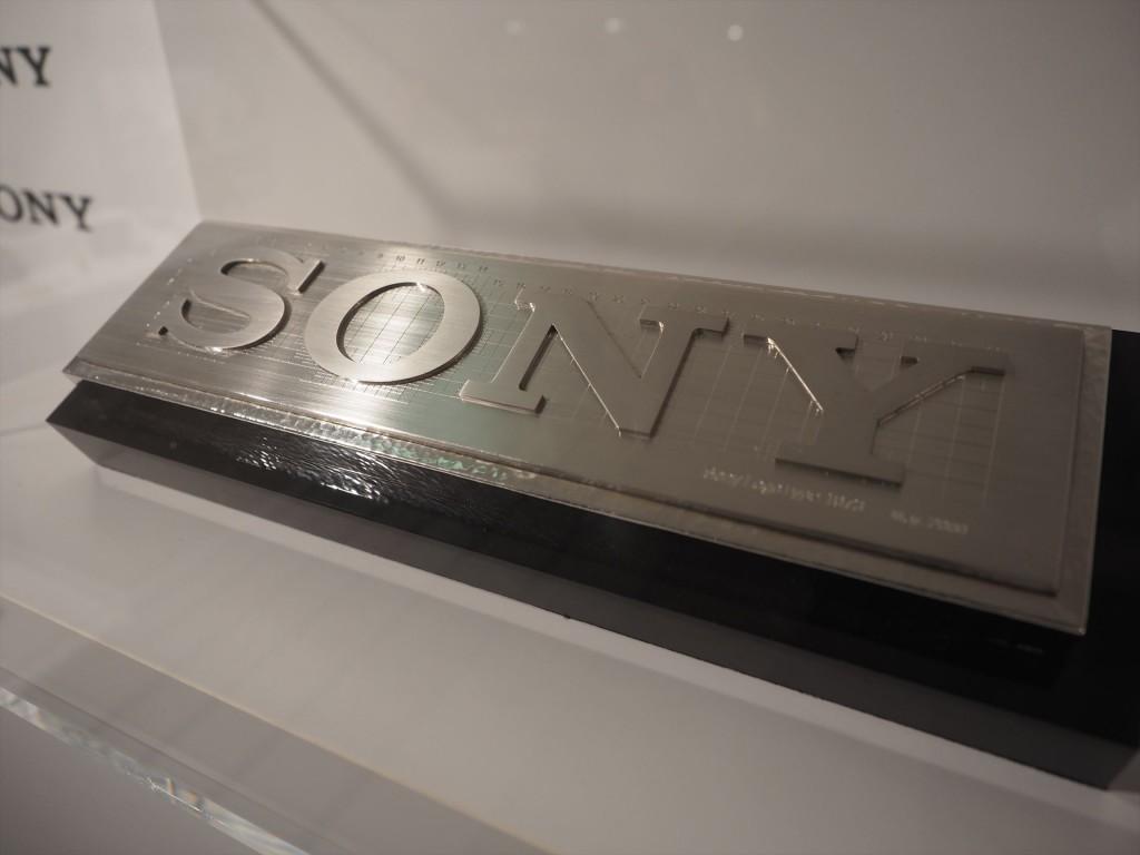 SONYロゴのデザイン
