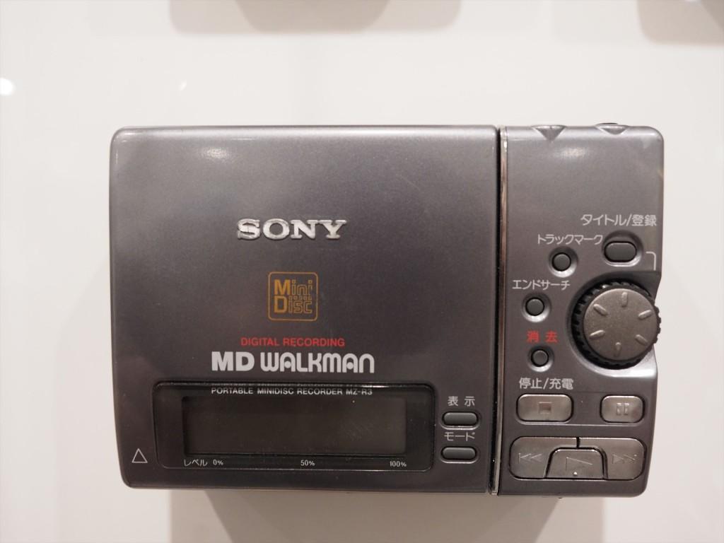 1台で録音・再生ができるMDプレーヤー