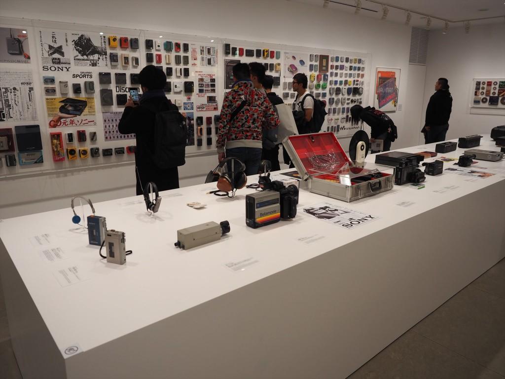 SONY展の展示エリア