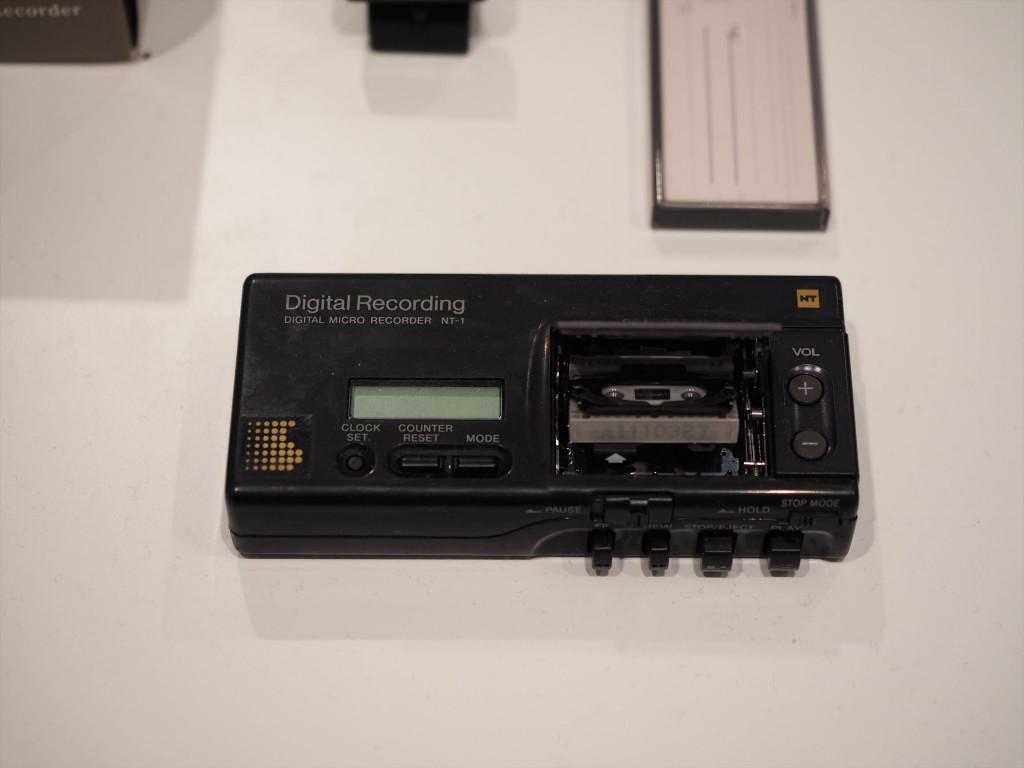 デジタルマイクロレコーダー