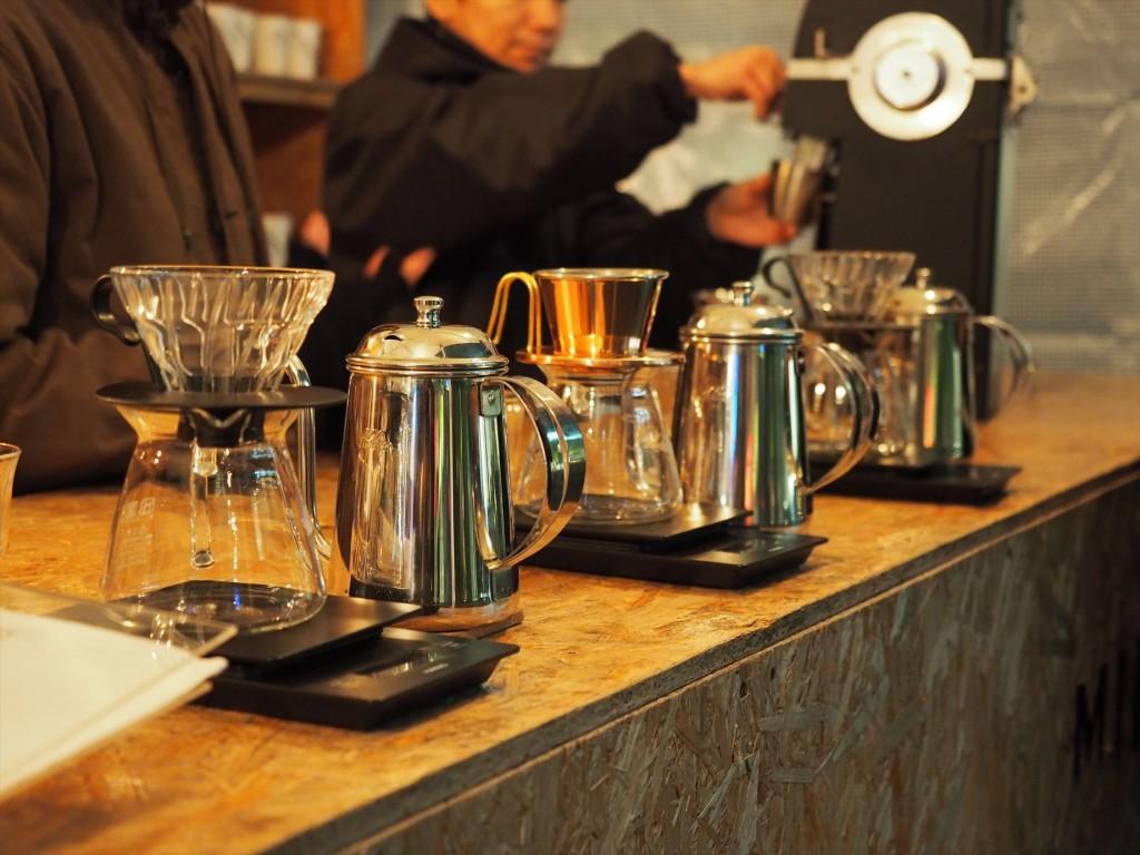 「MINEDRIP」は自分でドリップするコーヒー店