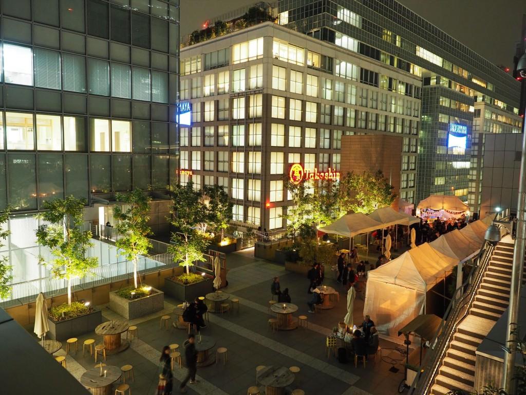 新宿NEWoManの屋上にこんなステキ空間が