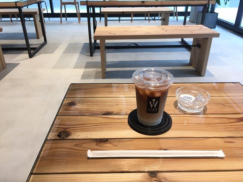 カフェラテは500円