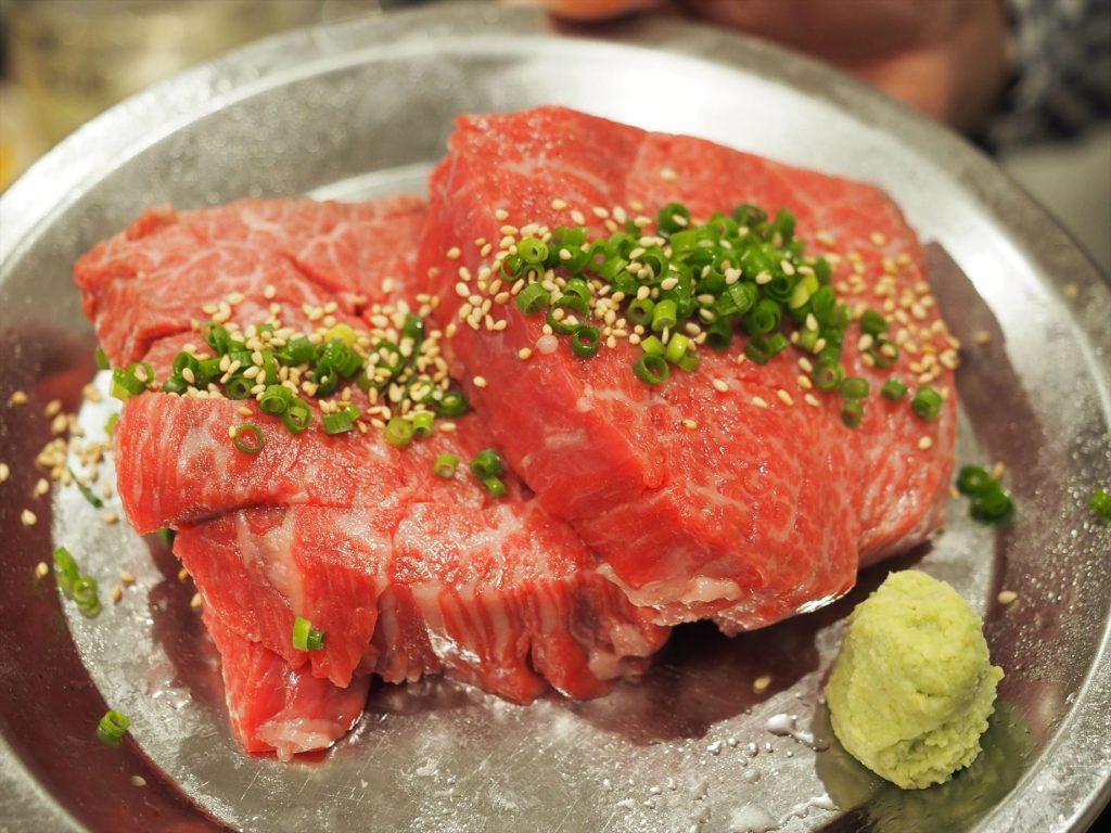 ヒロミヤ本店のステーキ