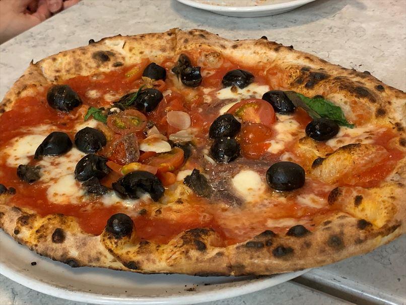 中目黒のピザ