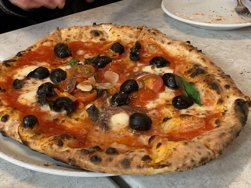 世界一のピザ職人が作るピザ