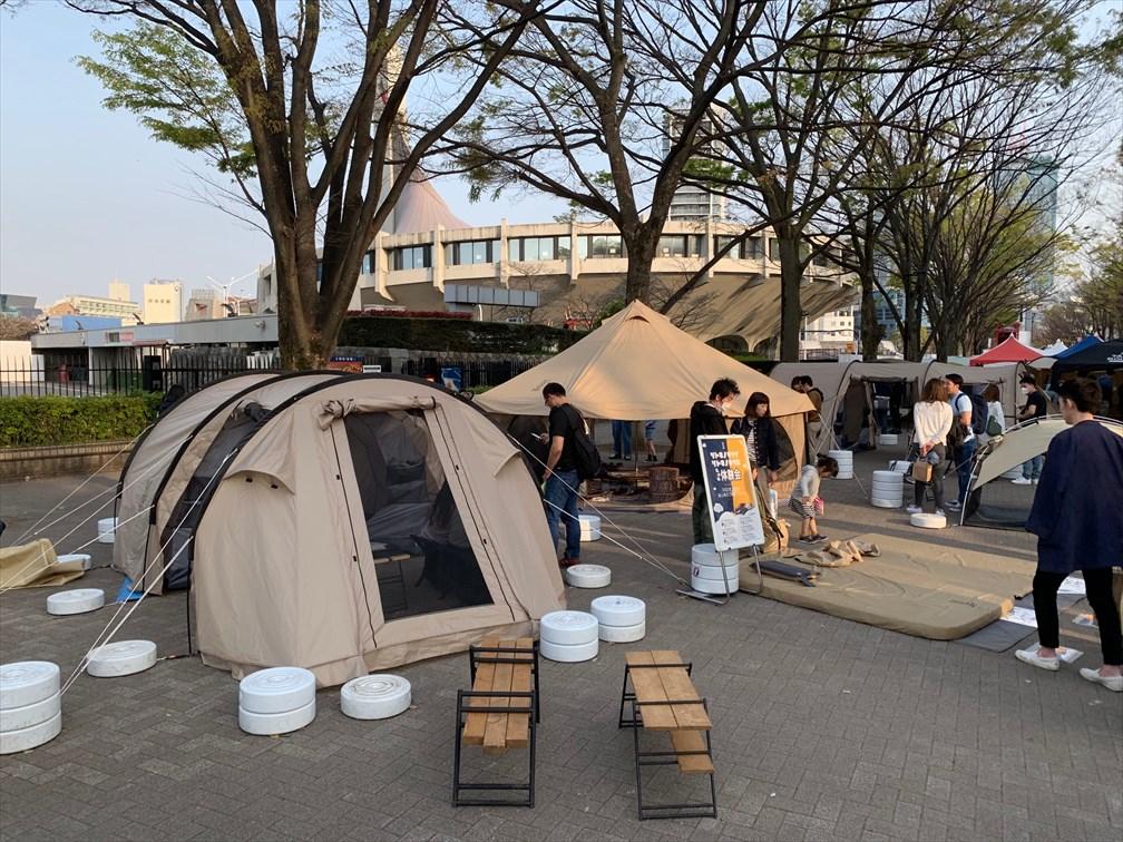 ドッペルギャンガーのテント
