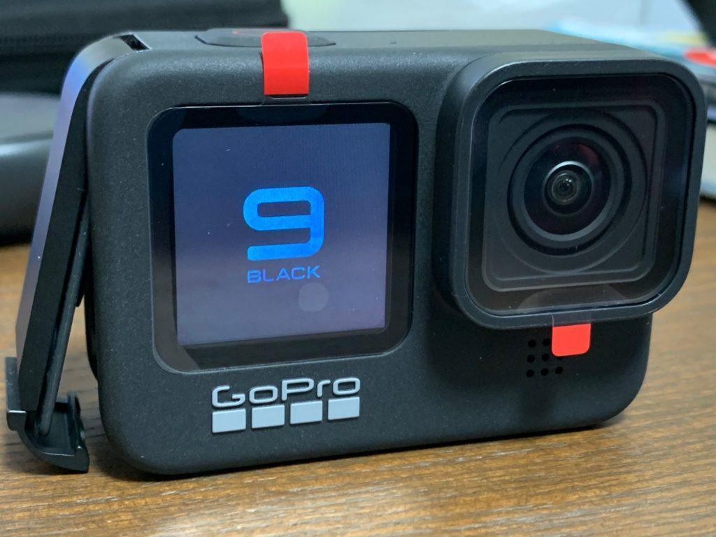 GoProHero9の電源オン