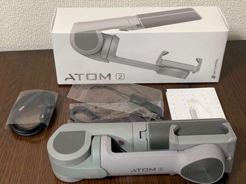 Snoppa Atom2の同梱内容